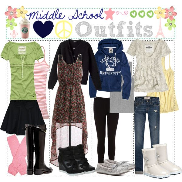 Back To School Outfits For High School Girls Polyvore   www.pixshark.com - Images Galleries With ...