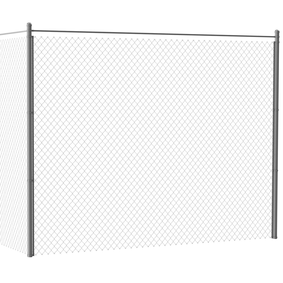Chain Link Fence 3D Model - 3D Model | 3D-Modeling | Pinterest ...