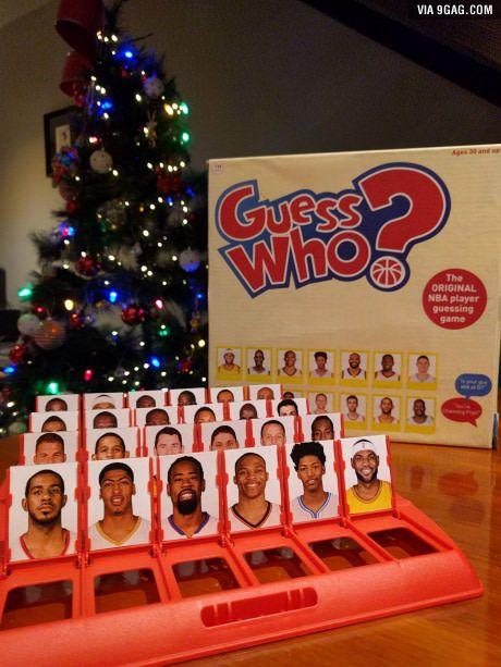 Girlfriend made me NBA Guess Who for Christmas.