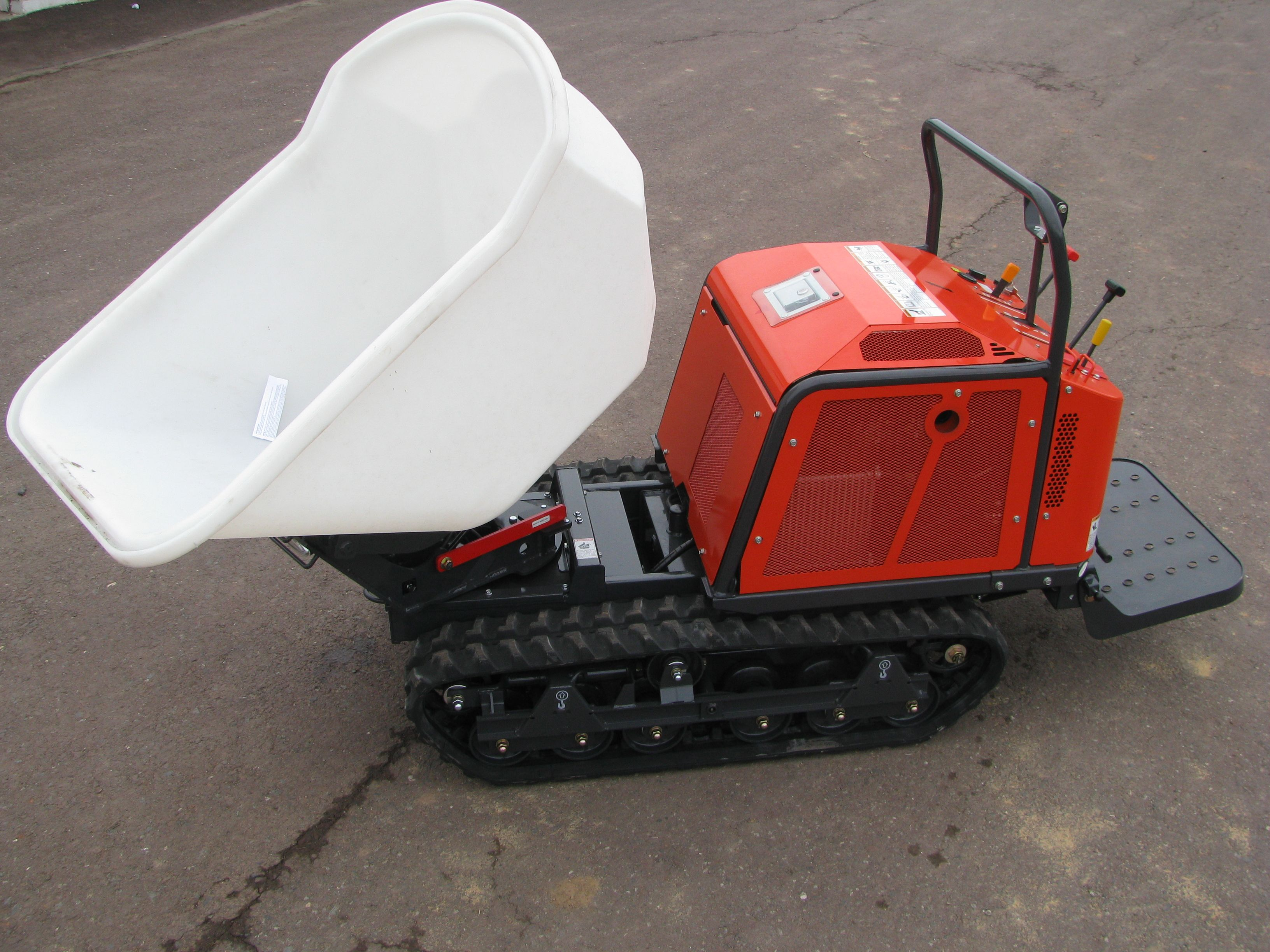 Track Buggy Functions Like A Powered Wheelbarrow