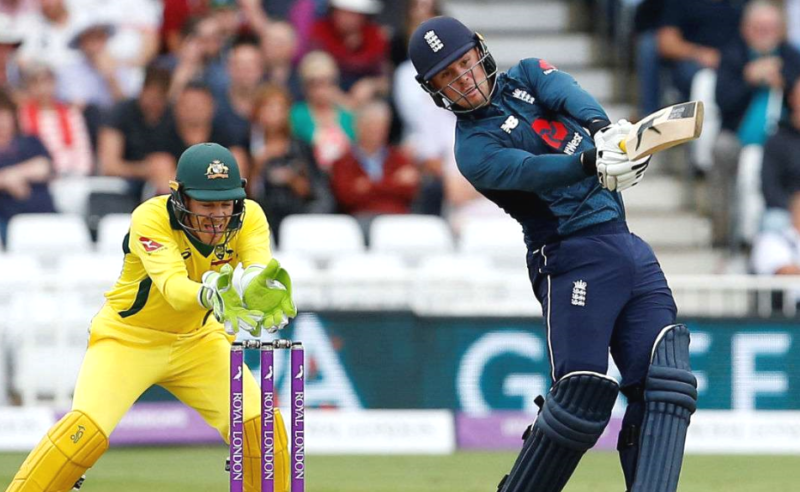 England v Australia Hosts make record 4816 in 242run