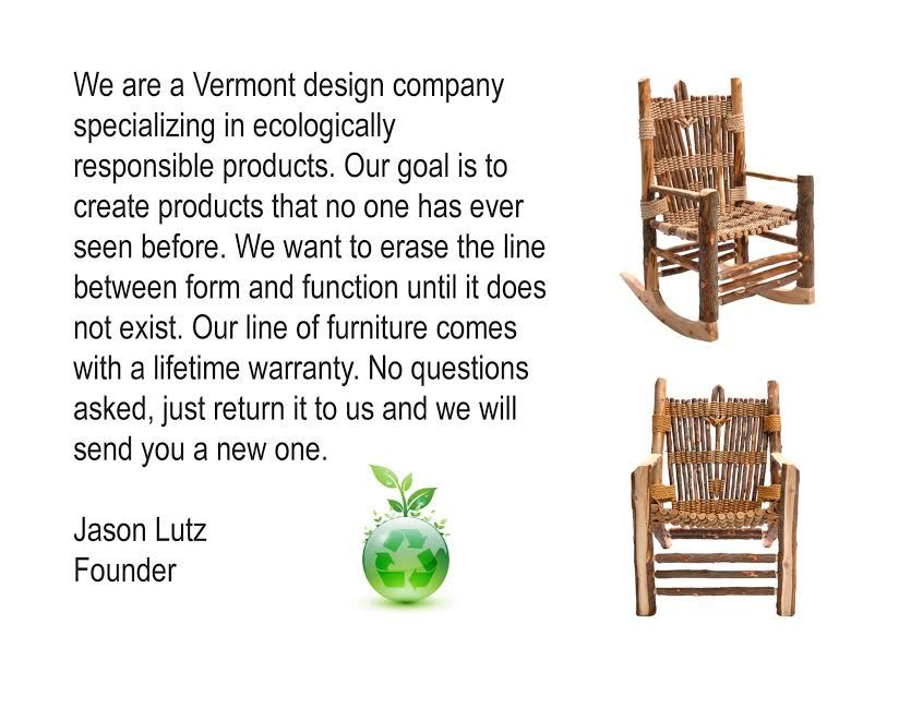 Amazing The Vermont Cedar Chair Company Handmade Furniture Pabps2019 Chair Design Images Pabps2019Com