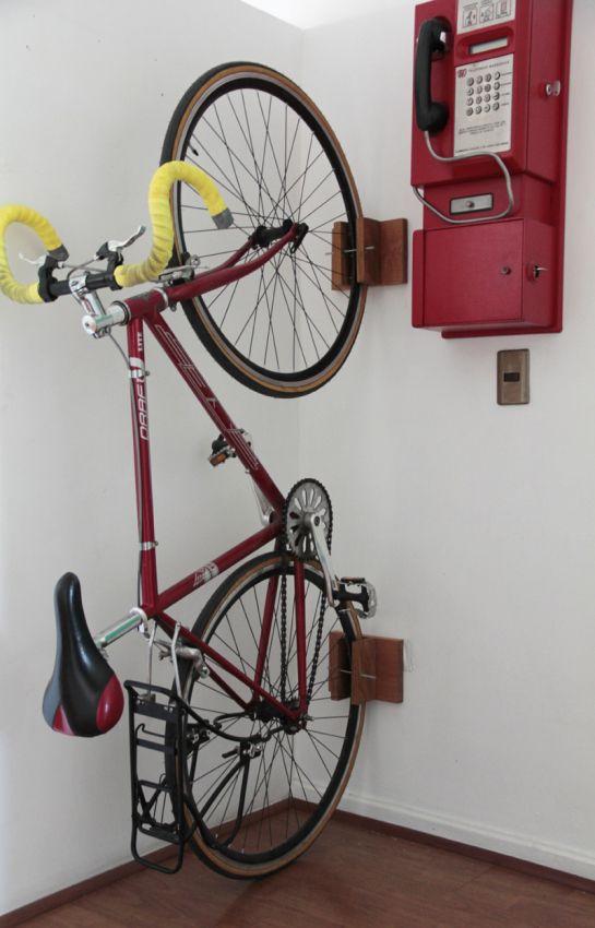 Portabicicletas de pared Deposito bicicletas rack de almacenamiento de pared