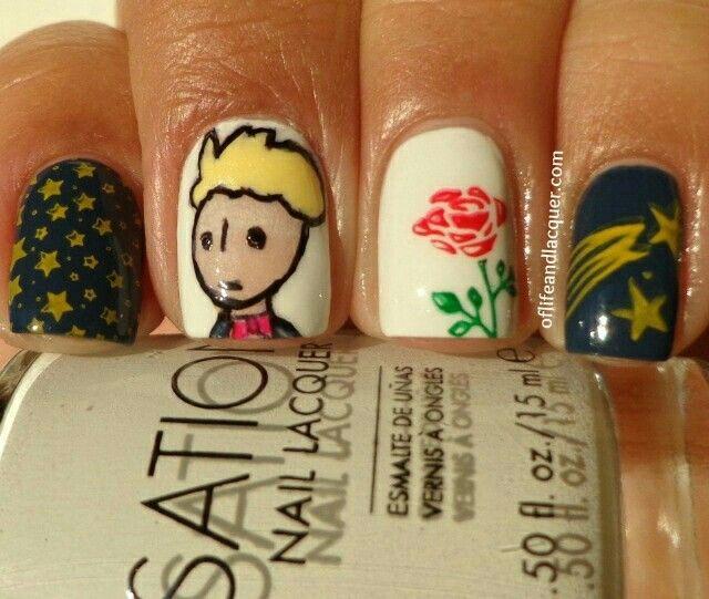 Principito   uñitas gelish   Pinterest   Principito, Diseños de uñas ...