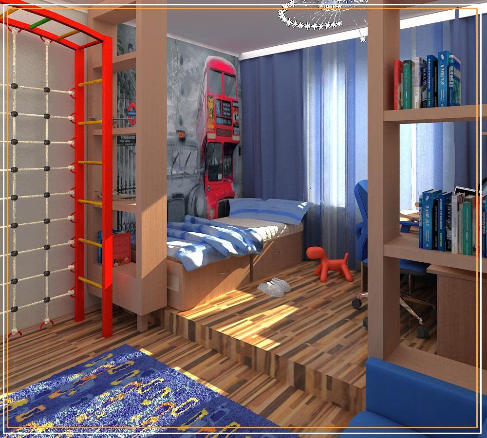 комната для мальчика 10 лет фото