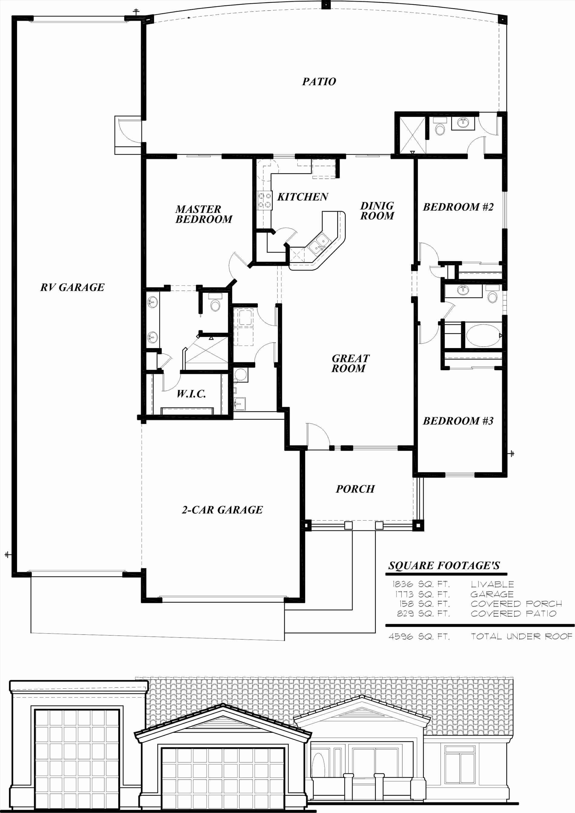 2 bedroom 5th wheel floor plans luxury rv garage floor plans we - 2 Bedroom 5th Wheel Floor Plans