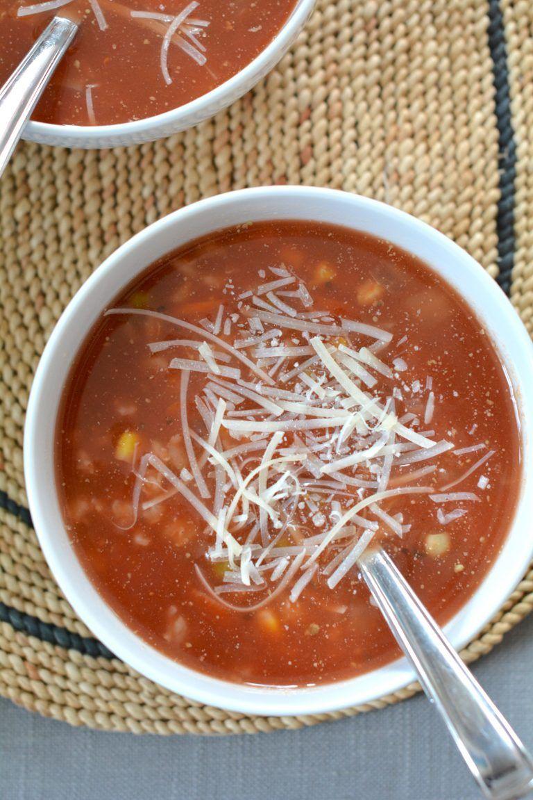 Easy SlowCooker Vegetable Barley Soup Recipe