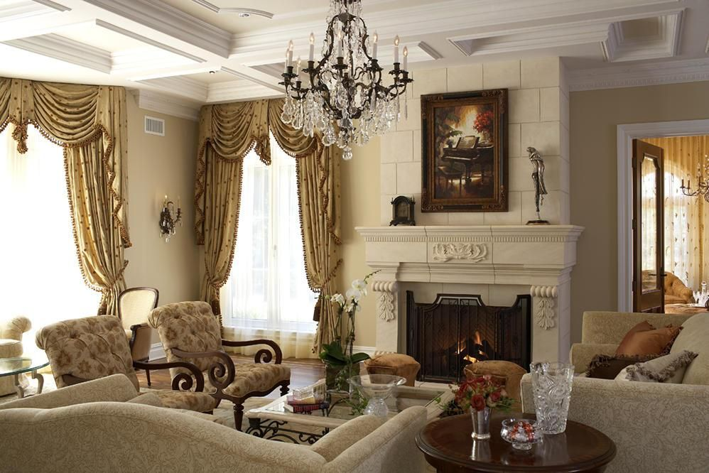 Charming Awesome Tuscan Living Room Design Ideas