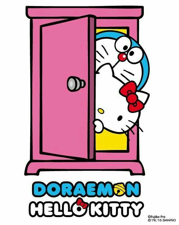 Hello Kitty Doraemon Doraemon Pinterest