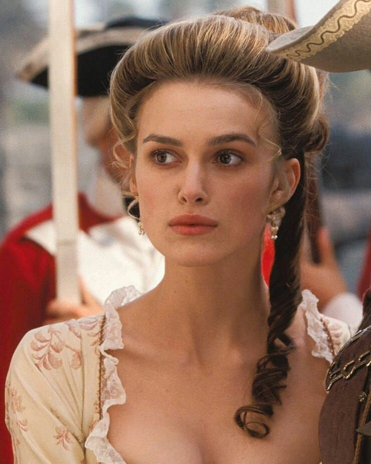 Yayo On Instagram 17 Year Old Keira Knightley In Pirates Of The