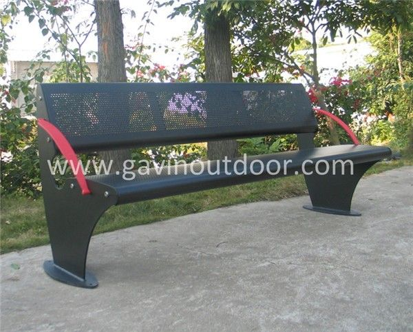 metal garden benchmetal park benches for steel bench