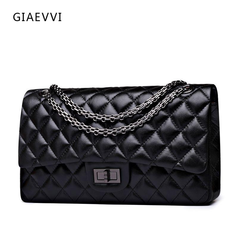 4112f89ca17e GIAEVVI women messenger bags 2017 brand genuine leather tote shoulder bag  luxury handbag women crossbody bags