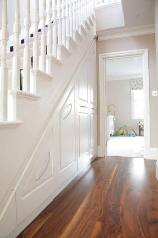 Cabinets Under Stairs under stair storage ideas | stair storage, storage and storage ideas