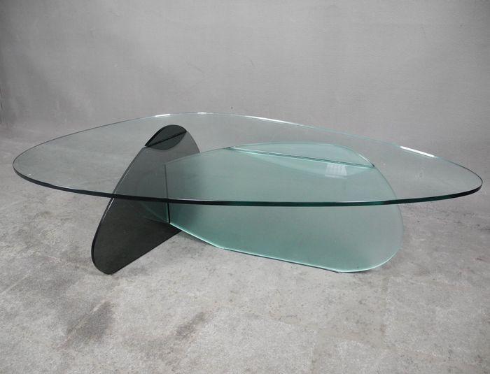Karim Rashid voor Tonelli Design - Glazen salontafel \'KAT\' 2008 | B ...