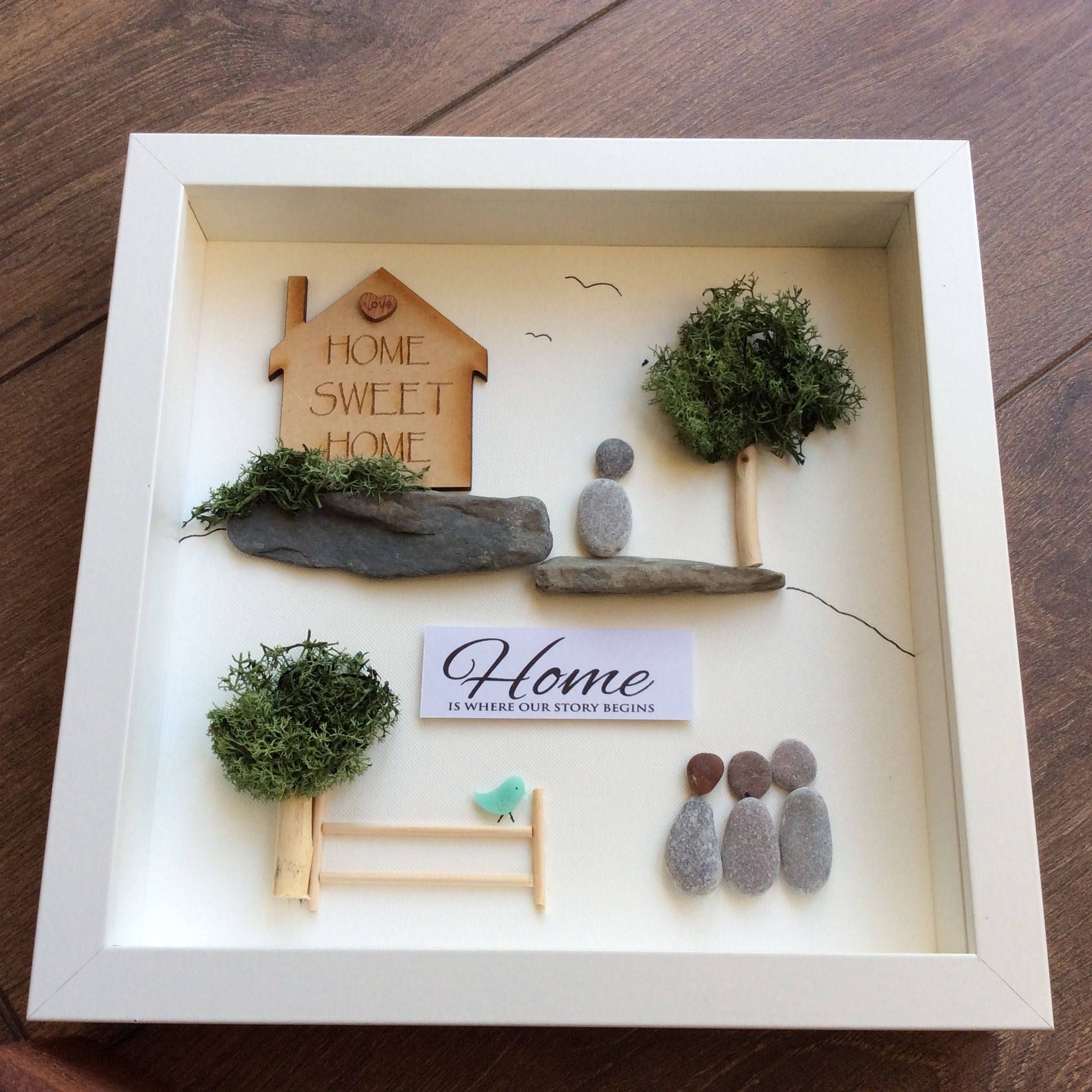 Pebbleart home moving house present home sweet home moving in pebbleart home moving house present home sweet home moving in gift present negle Images