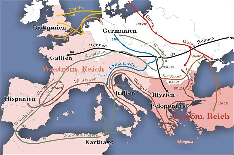Historical migration - Wikipedia, the free encyclopedia