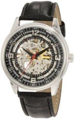 2b12981e3a8 Relógio Akribos XXIV Men s AK410SS  Saturnos  Skeleton Automatic Leather  Strap Watch  Relógio  Akribos