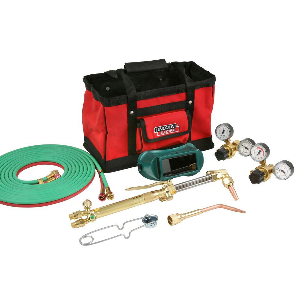 Lincoln Electric Cut Welder Kit with Torch, Oxygen and