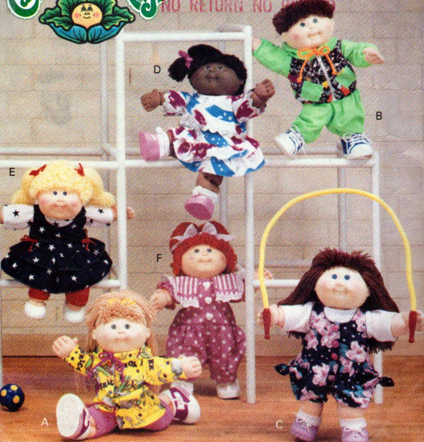 Cabbage Patch Kids Doll Clothes For Unisex 16 Inch Cabbage Etsy Cabbage Patch Kids Clothes Cabbage Patch Kids Cabbage Patch Kids Dolls