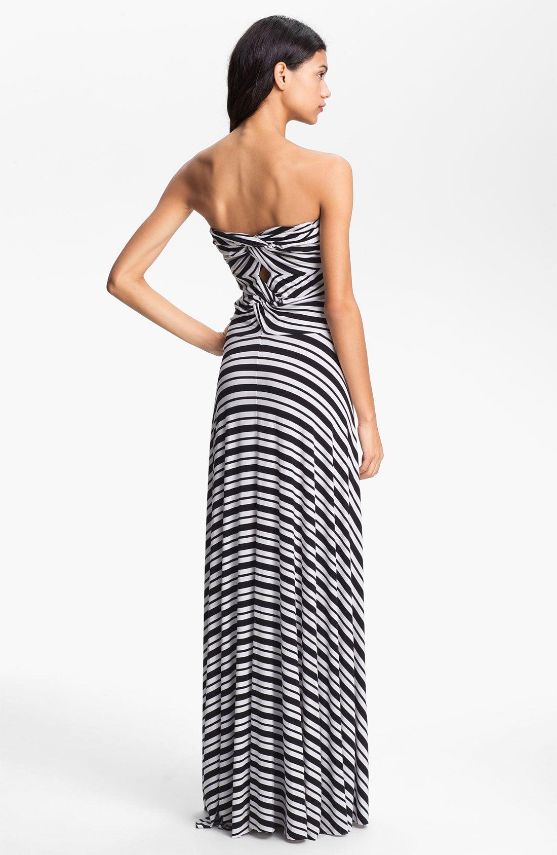 Felicity Coco Stripe Strapless Maxi Dress Nordstrom Exclusive Nordstrom Strapless Maxi Dress Flattering Maxi Dress Style Maxi Dress [ 1687 x 1100 Pixel ]
