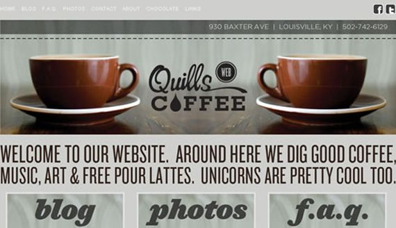 Delectable Coffee Website for Inspiration