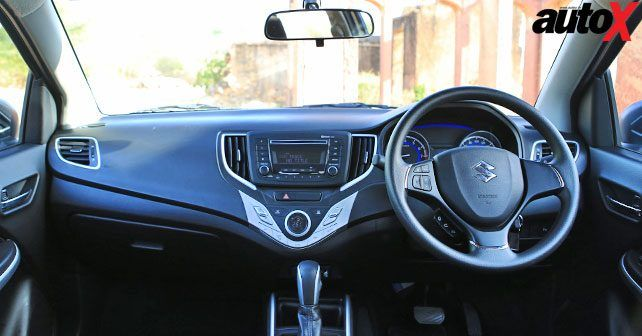 Maruti Suzuki Baleno At Interior