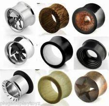 Body Piercing Jewelry Body Jewelry Organic Wood Wooden Plug Ear Double Flare Saddle Flesh Tunnel Stretcher Expander Profit Small