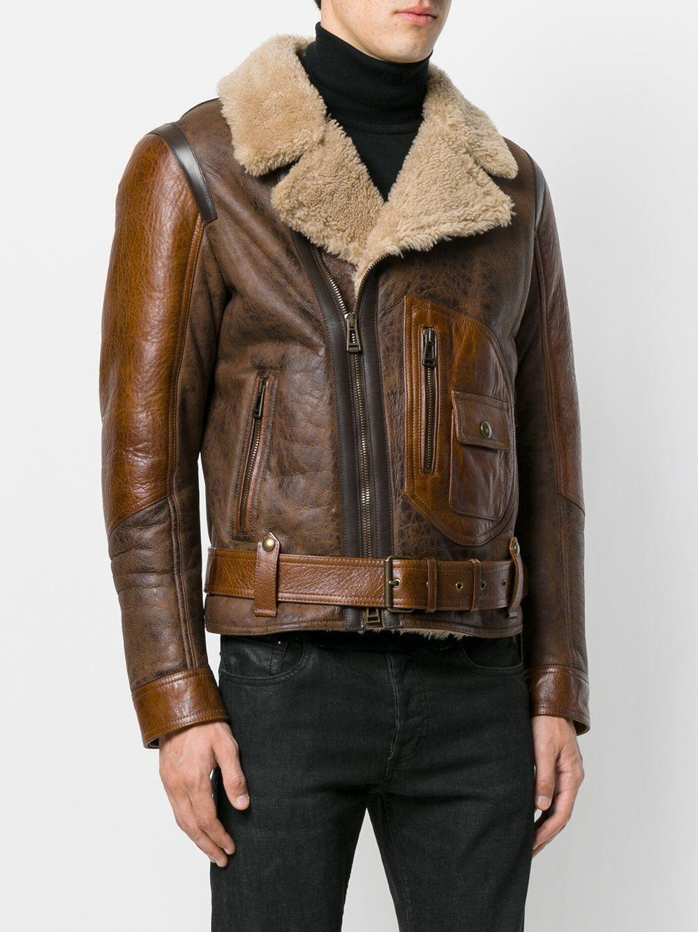 995b62eecfb1 Belstaff shearling biker jacket