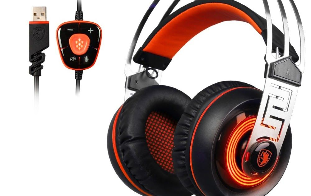 Hot Offer Sades A7 Usb 71 Gaming Headphones Game Earphone With