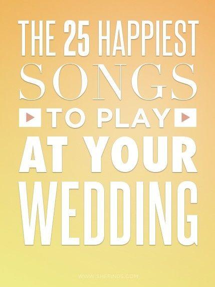 Best Wedding Playlist Idea