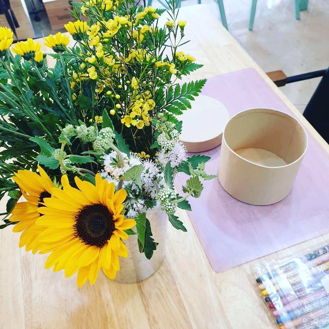 카카오톡 플러스친구 [플로니드] 오늘의 베이비 우리 오늘 무엇을 할까요?! 오늘의 베이비가 사용할 꽃 . .
