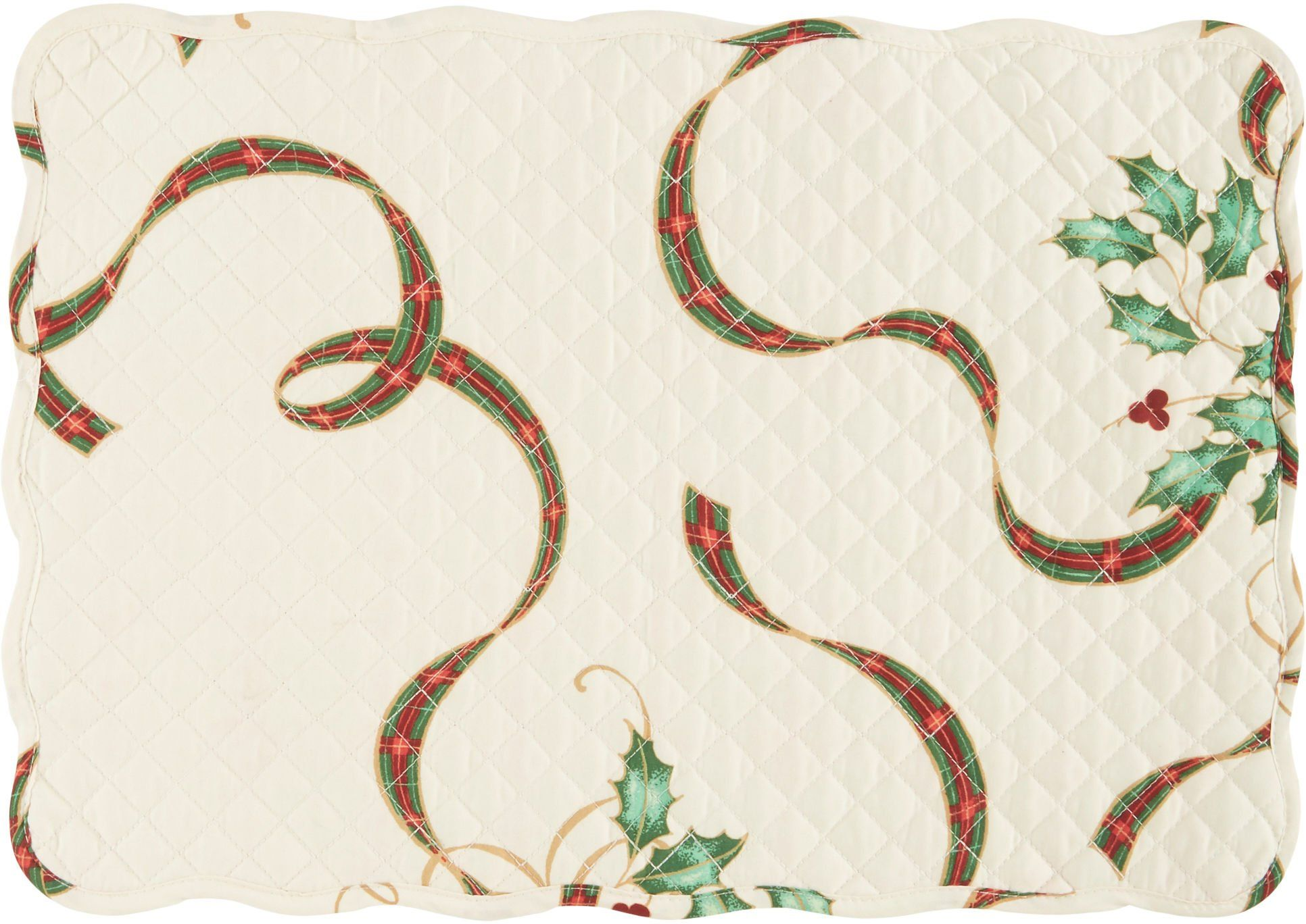 Lenox Holiday Nouveau Quilted Placemat One Size Awesome Products Selected By Anna Churchill Placemats Dining Table In Kitchen Lenox