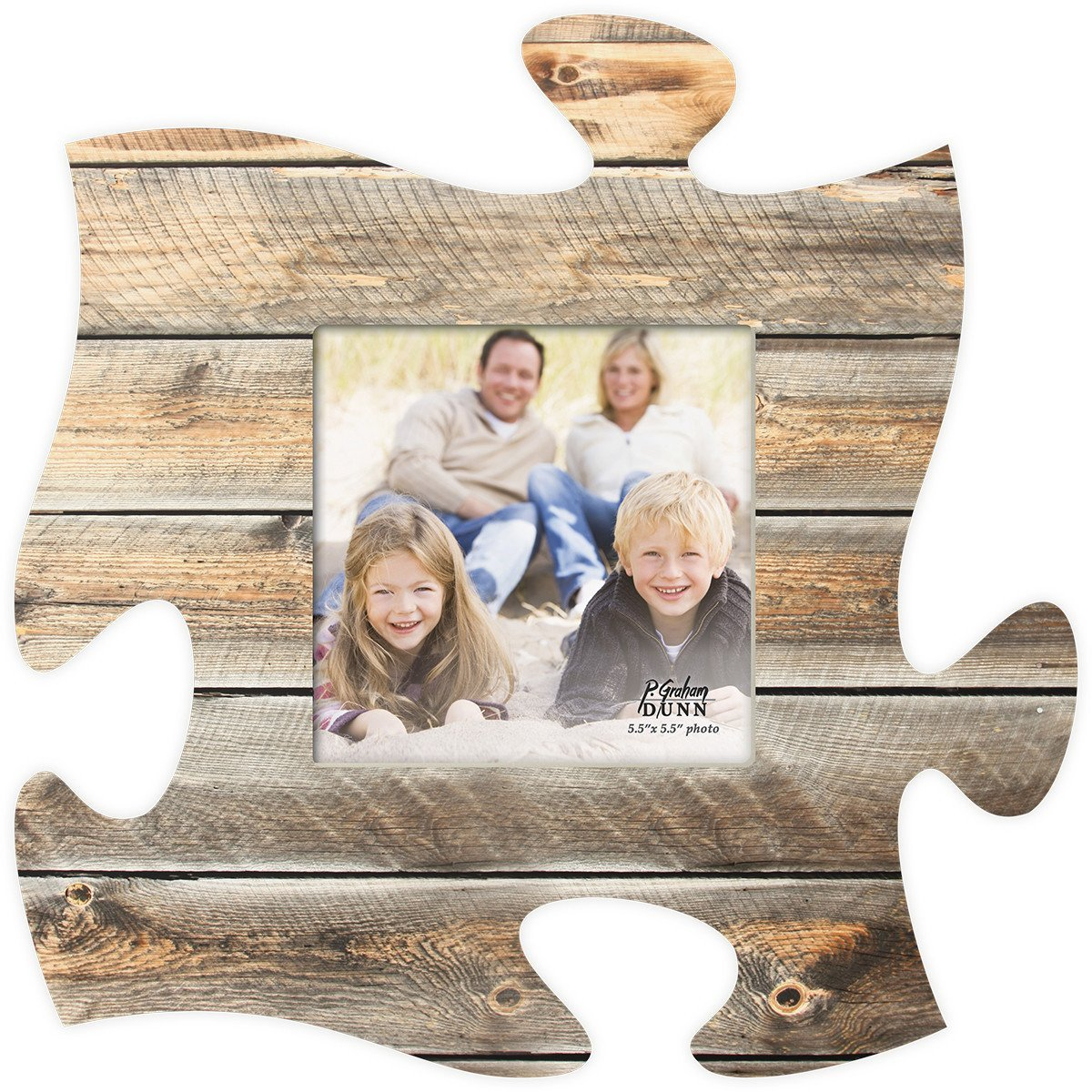 Puzzle Photo Frame Natural Wood Puzzle picture frame