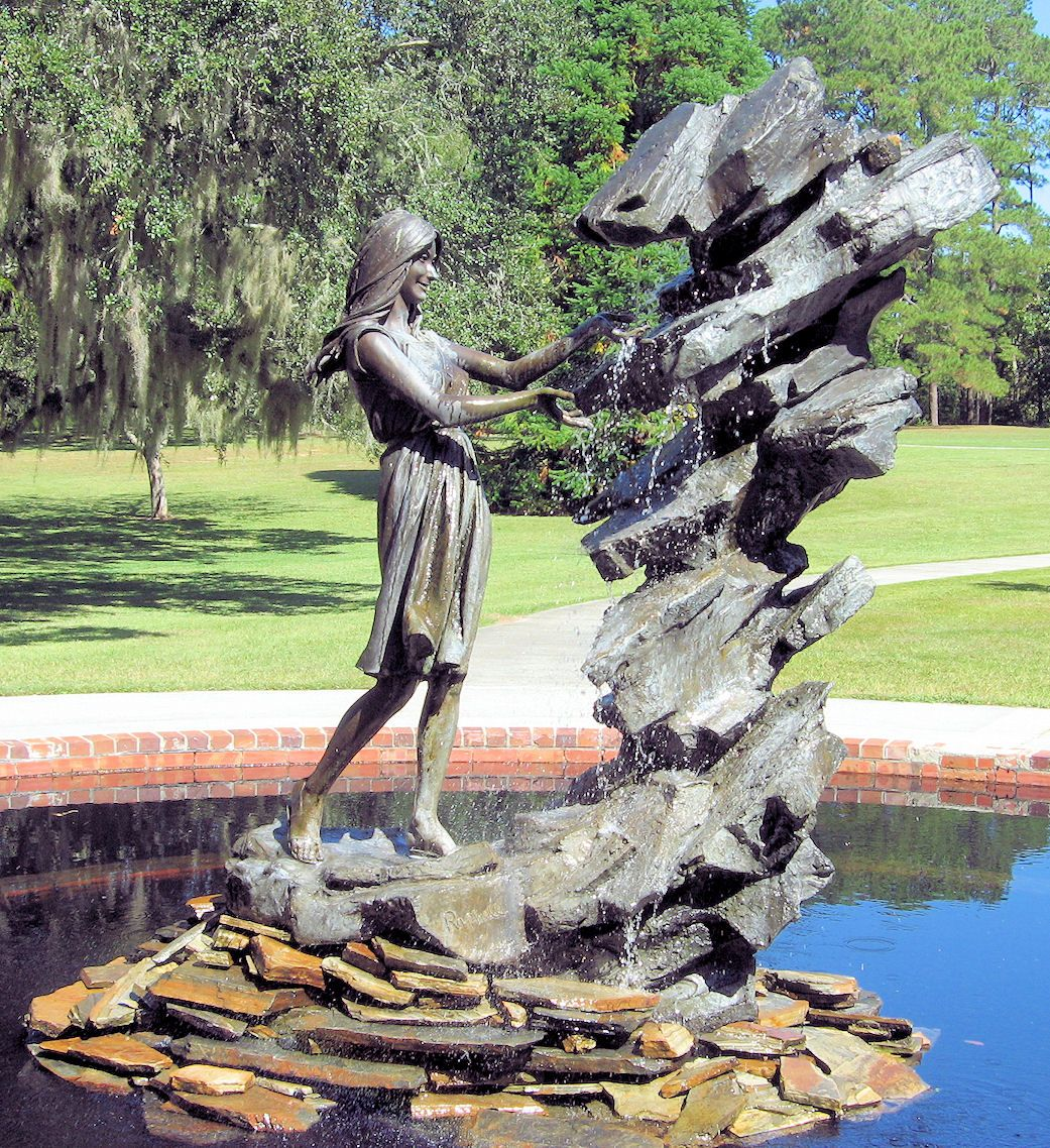 Brookgreen Gardens in South Carolina. There are hundreds of ...