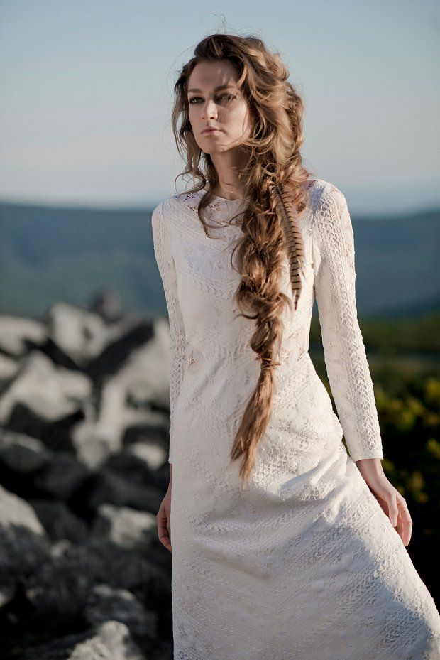 Free Spirited Wedding Dresses By Anna Kara