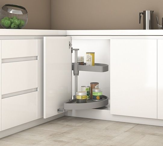 Best Magic Corner Carousel For Kitchen Units 1 2 Moon Pull Out 400 x 300