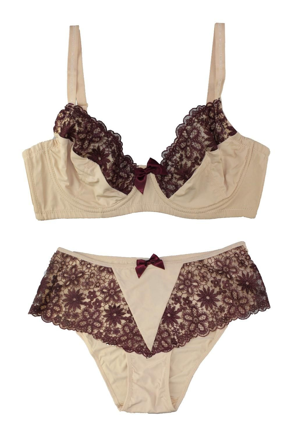 a3d2ad71b71 Mierside Many Styles Lace Lingerie Decorative Bow Female Underwear Bras and  matching pants Push Up Bra Set 32-44 B C D DD. Yesterday s price  US  19.29  ...