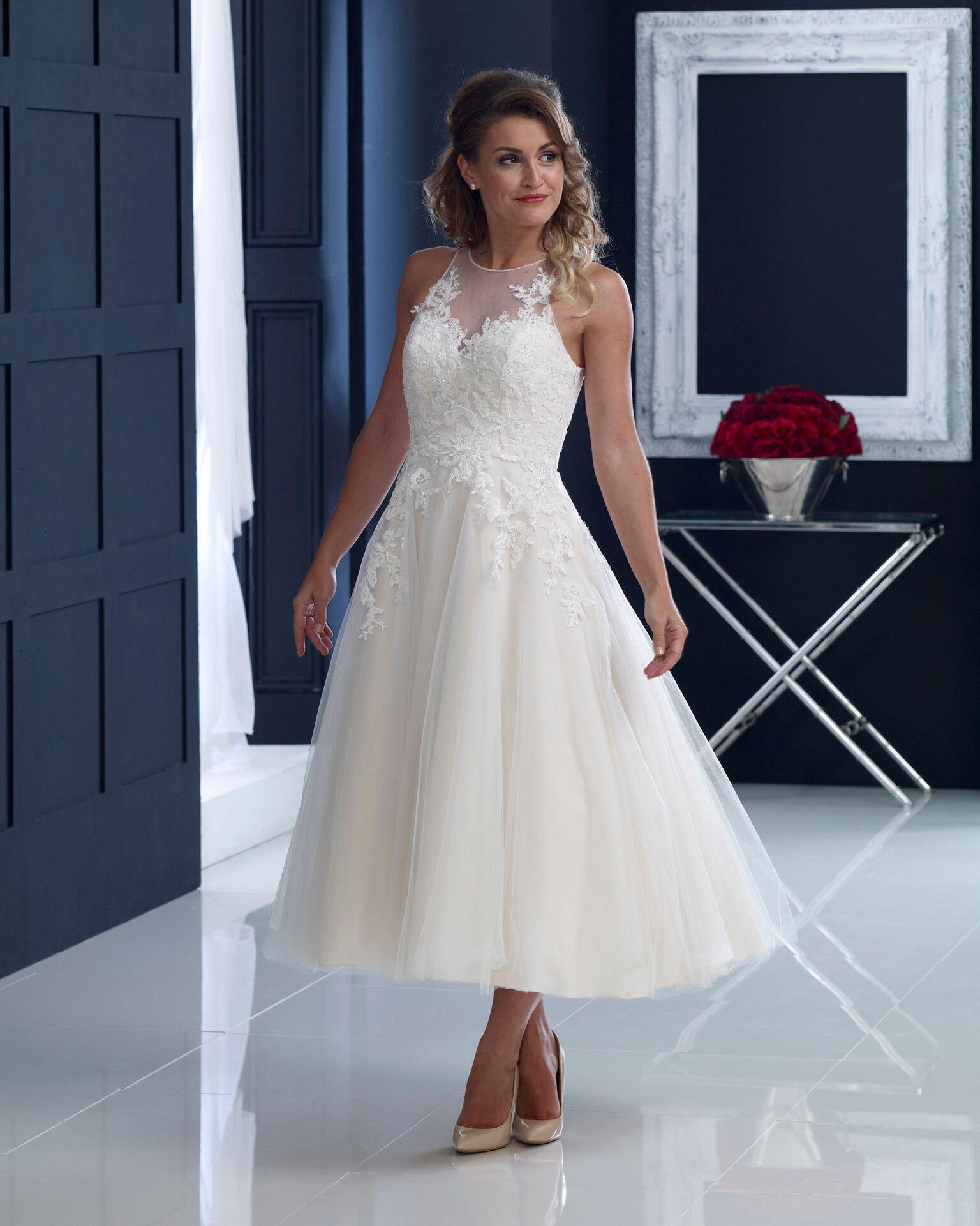 Fifties style wedding dresses 2018