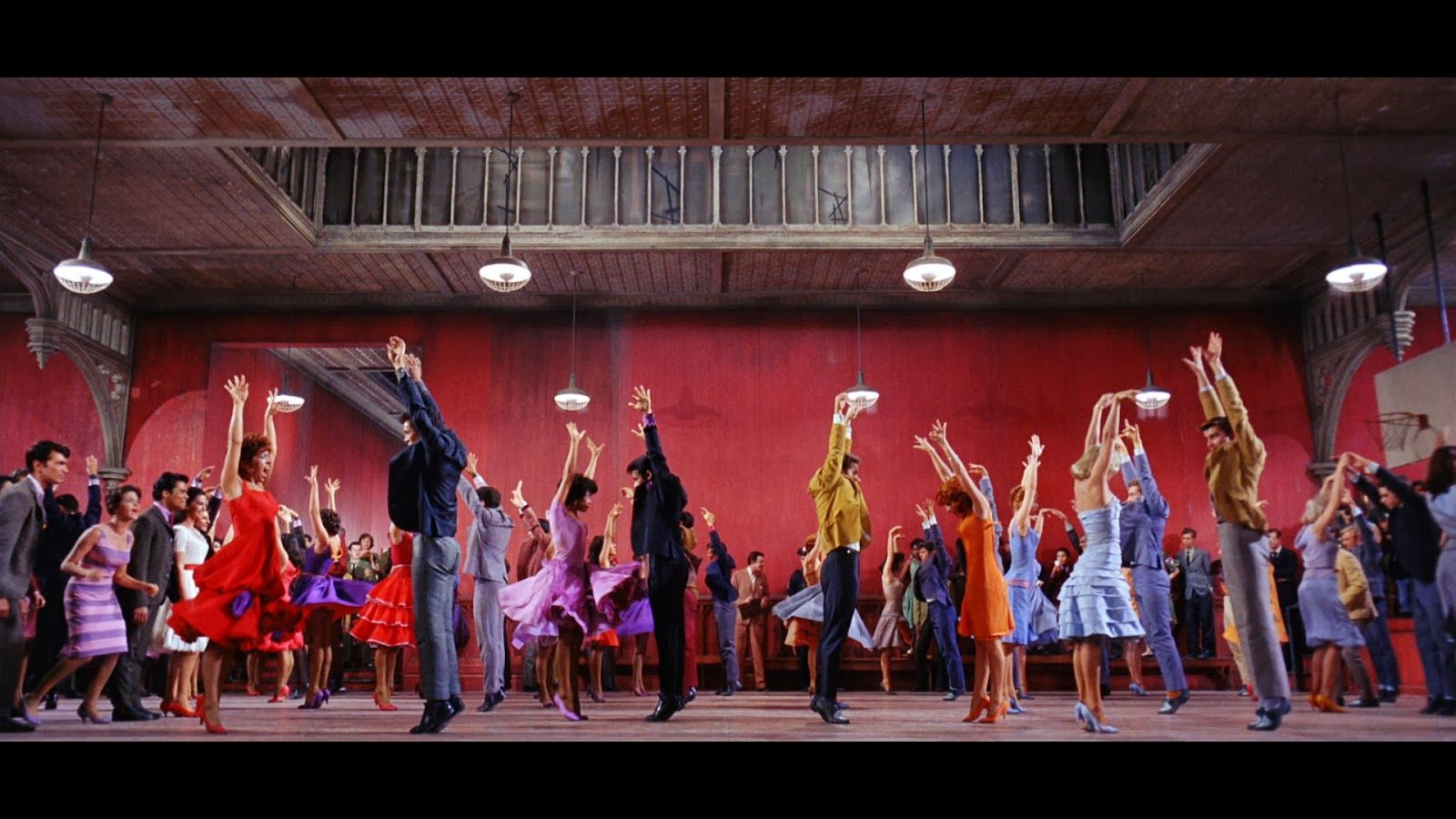 West Side Story Dance At The Gym Really All The Costumes By Irene Sharaff Muted Indigo Blues Oc West Side Story Movie West Side Story West Side Story 1961