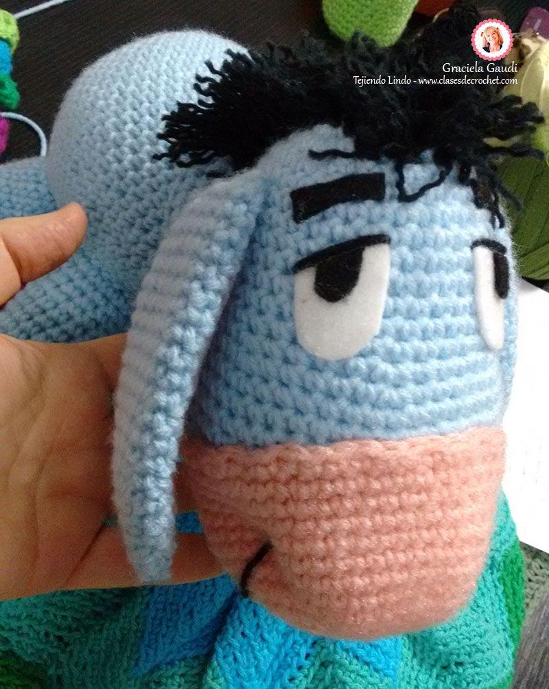 #Crochet #Amigurmis Winnie-the-Pooh Ígor