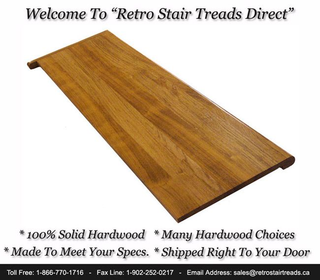 Buy Retro Stair Treads And Risers Direct In Canada