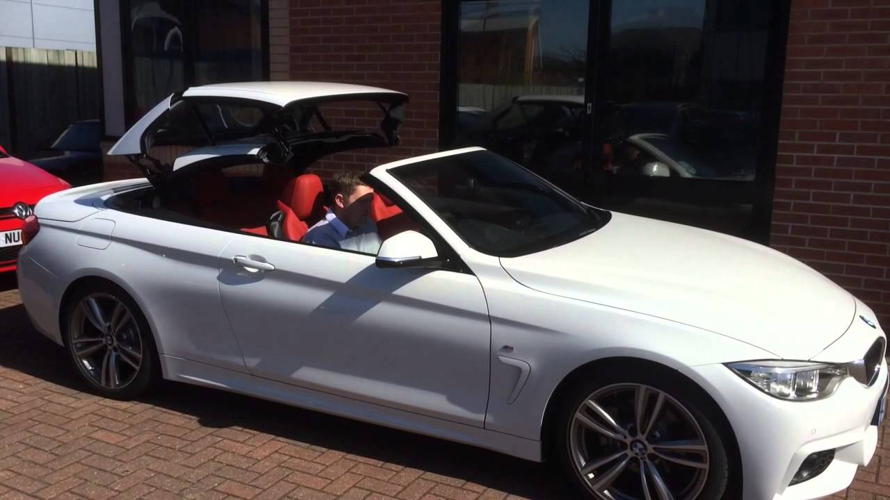 Bmw 4 Series Convertible Roof Operation Bmw 4 Series Bmw Bmw 4