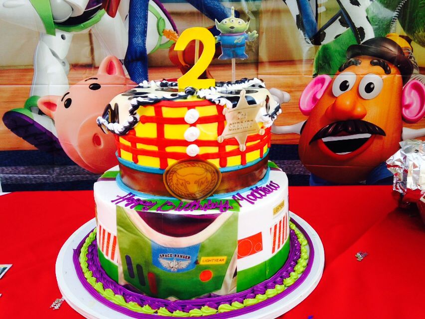 Toy story bday cake