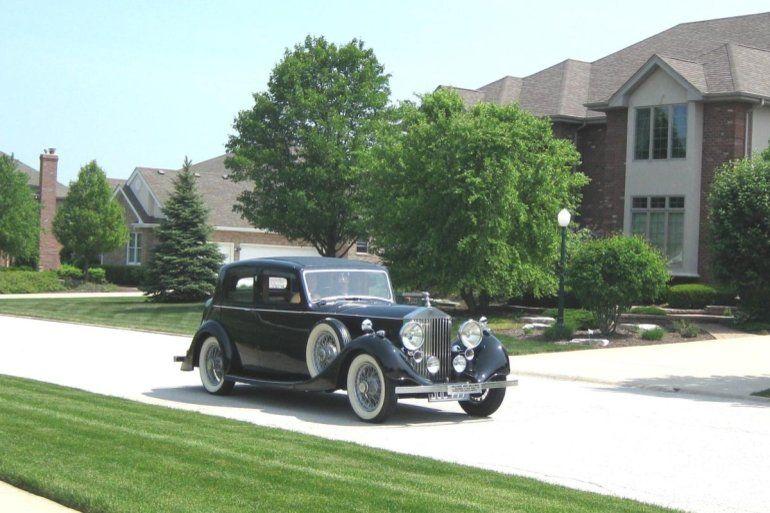1937 Rolls-Royce 25/30 for Sale
