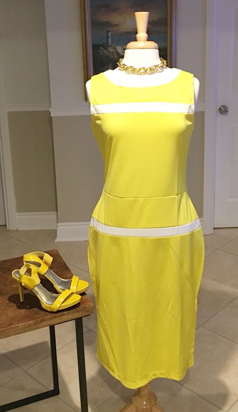 Yellow Mellow Dress