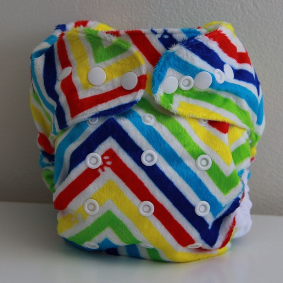 Our new rainbow cloth nappy is finally here - and it looks amazing! Grab them at www.babybare.com.au