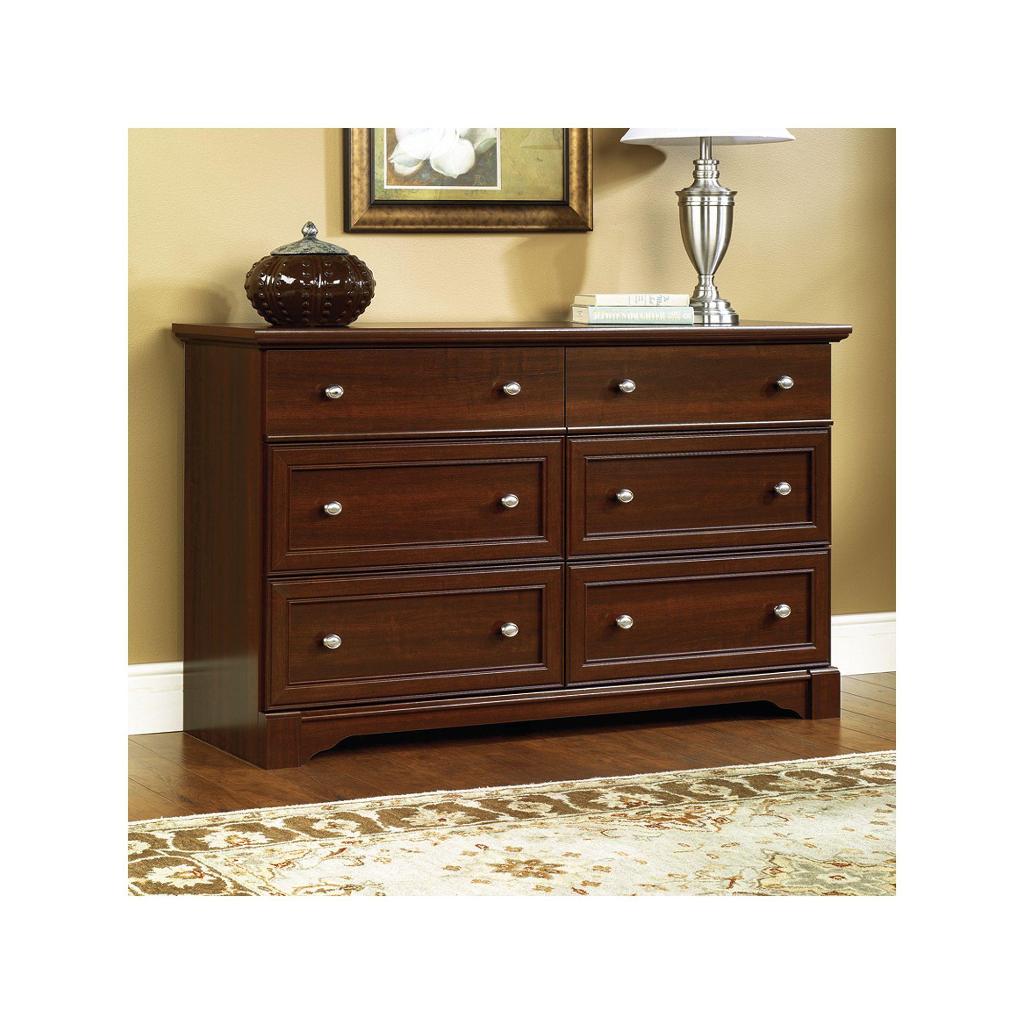 Sauder Palladia Dresser Cherry dresser, Cherry wood