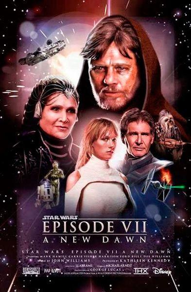 Pin En Star Wars El Despertar De La Fuerza Posters Fan Made