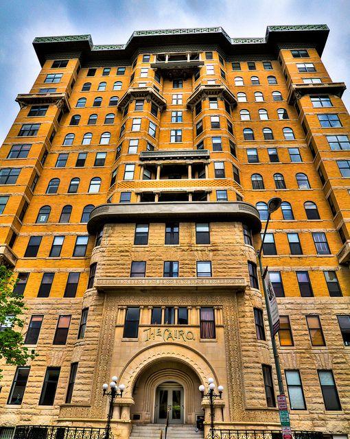 Cairo Apartment Building Dupont Circle Washington Dc