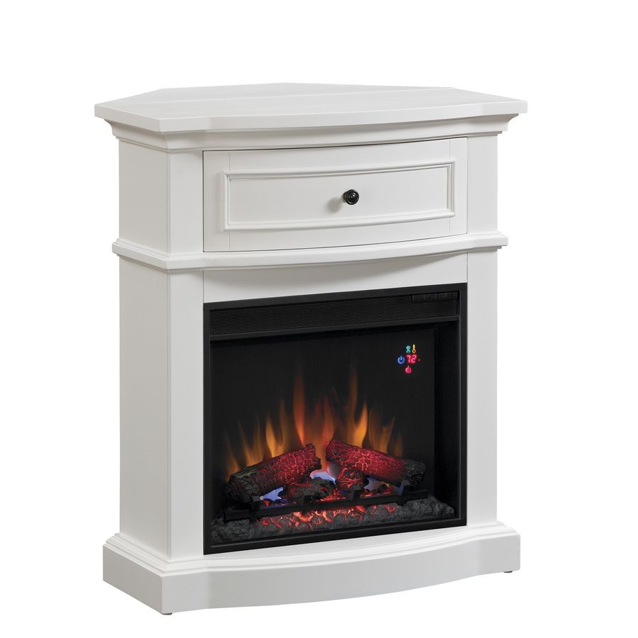 19 Best Corner Fireplace Ideas For Your Home White Corner